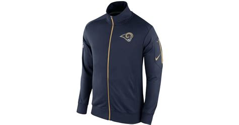 st louis rams jacket nike s los angeles rams empower jacket in blue for