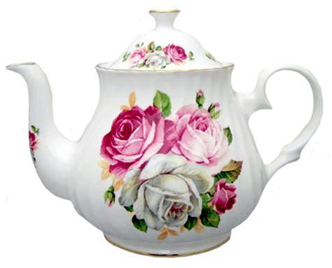 summertime blooms heirloom bone china teapot  cup