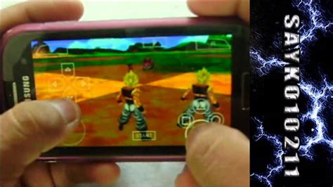 z for android apk z tenkaichi tag team para android