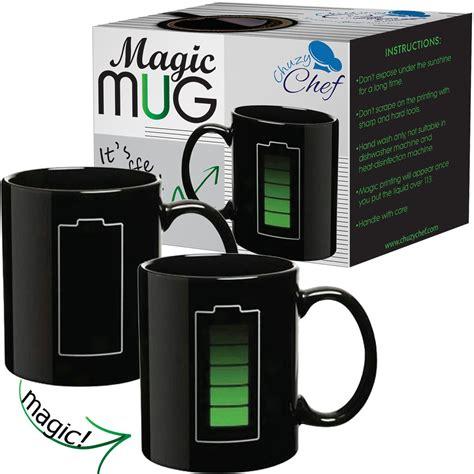 Coffee Magic magic coffee battery charging heat sensitive mug for 11