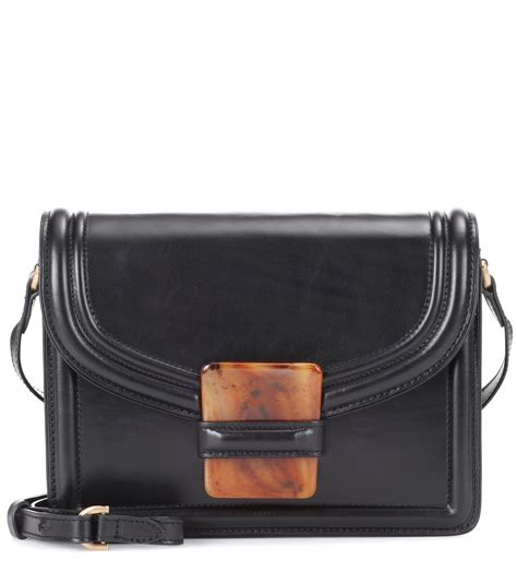 Guess Who The Dries Noten Purse by Lyst Dries Noten Leather Shoulder Bag In Black