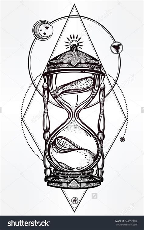 tattoo designs drawing 25 best ideas about hourglass on