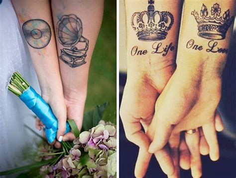 16 wedding ring tattoo ideas to replace your wedding rings