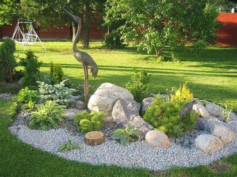 decorar jardin con rocas jardines decorados con rocas y piedras curso de