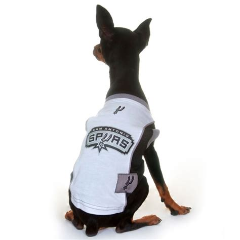 puppy san antonio san antonio spurs jersey officially licensed nba pet clothes at glamourmutt