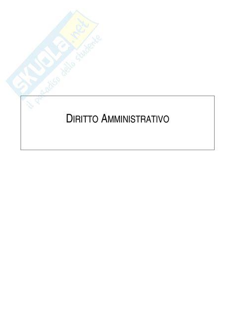 dispensa diritto amministrativo diritto amministrativo appunti