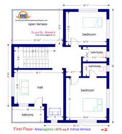Kerala Home Design Single Story floor plan and elevation of 1925 sq feet villa house