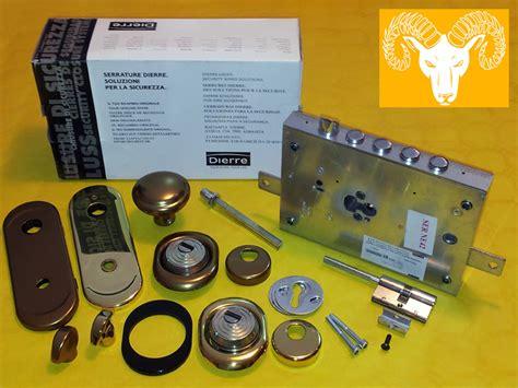 cilindro porta blindata prezzo vendita serrature dierre per porte blindate a cilindro europeo