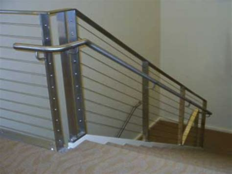 wire banister cable railing