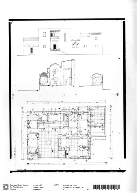 what is section plan casaroni house working drawing ground floor plan final