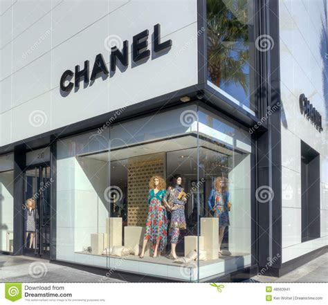 design house aberdeen store chanel retail store exterior editorial photo image 48563941