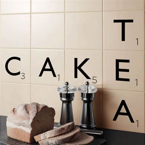 scrabble bathroom tiles 1000 ideas about wall tiles for kitchen on pinterest