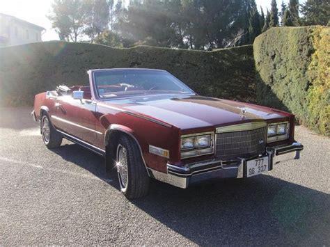 80 Cadillac Eldorado by Cadillac Eldorado Serie 9 Biarritz Cabriolet