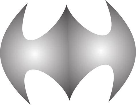 mencoba untuk membut logo betman logo ini dibuat dengan