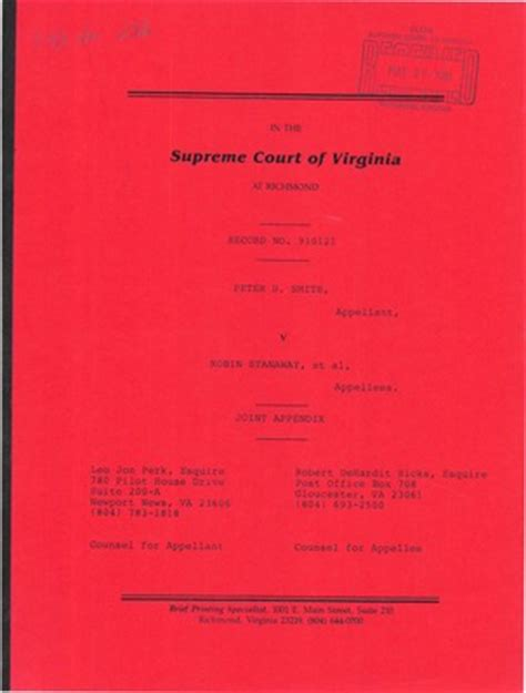 Chesapeake Court Records Virginia Supreme Court Records Volume 242 Virginia Supreme Court Records