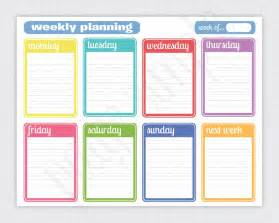 free printable templates 7 best images of weekly calendar printable printable
