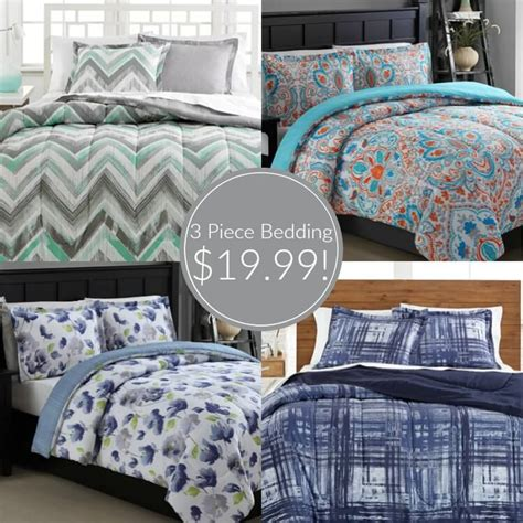 macy bedding sets macy s 3 piece bedding sets just 19 99