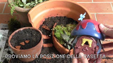 vaso rotto vaso rotto giardino in miniatura