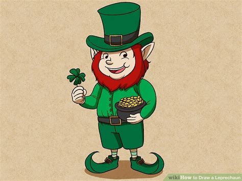 How To Draw A Leprechaun With A Pot Of Gold how to draw a leprechaun with pictures wikihow