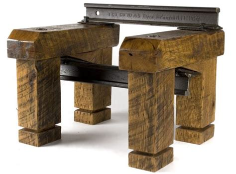 Railroad Furniture by Best Recycled Furniture Units For Sustainable Homes