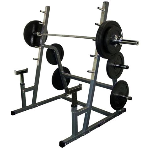 Rack Squat by Valor Safety Squat Combo Rack With Weight Pegs