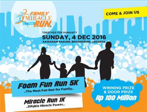 The Miracle Run Free Family Miracle Run 2016 Just Run Lah