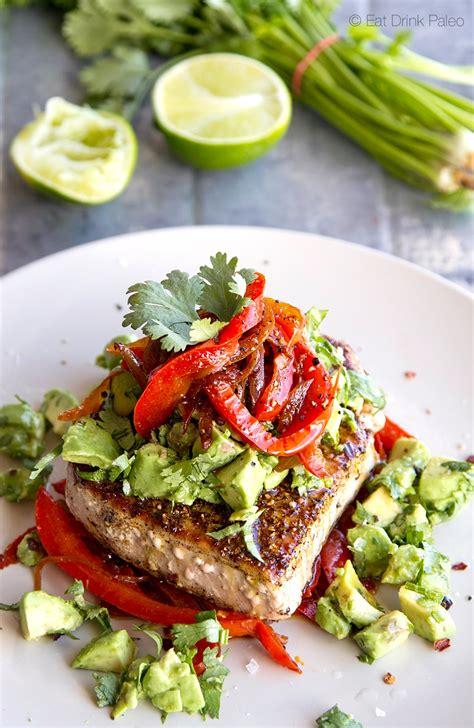 spiced mexican tuna steak recipe