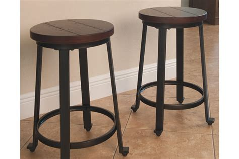 bar stools heights challiman counter height bar stool ashley furniture