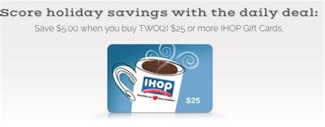 Ihop Gift Card Balance Check - kroger 25 merry days save on ihop gift cards passionate penny pincher
