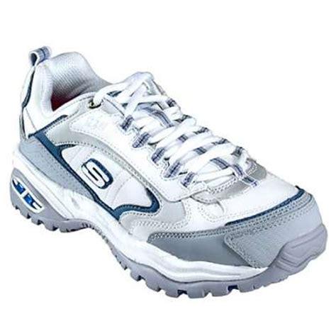 skechers 76224 s steel toe snow creek tennis shoe