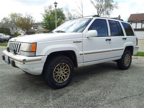 95 Jeep Sport Find Used 95 Jeep Grand Limited Sport V8 Low