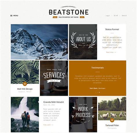 wordpress card layout 25 beautiful card based wordpress themes web graphic
