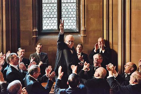 darkest hour playing gary oldman rises to the occasion as winston churchill in