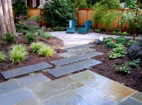 Backyard Easy Landscaping Ideas Simple Backyard Garden Designs