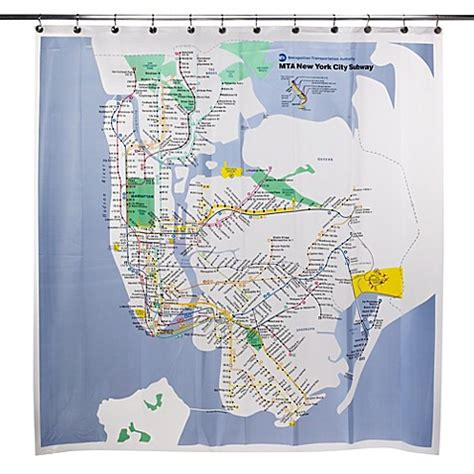 mbta shower curtain nyc subway map shower curtain my blog