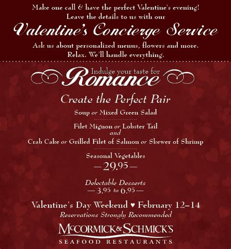 valentines day restaurant menu valentines day menu search results calendar 2015