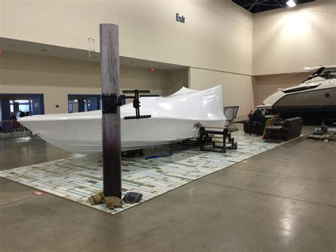 miami boat show december new bay boat manufacture barker boatworks float photos