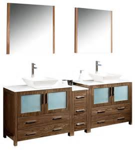 84 inch sink bathroom vanity in espresso walnut