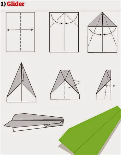 Folding Paper Aeroplanes - 12 ways to fold a paper plane