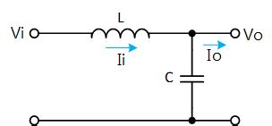 inductor input filter ares