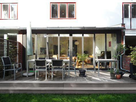 veranda reihenhaus reihenhaus erweiterung renovierung