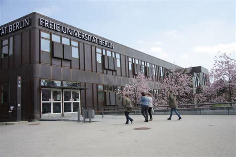 Fu Berlin Bewerbung Uni Abist Freie Universit 228 T Berlin Fu Best Freie Universit 228 T Berlin