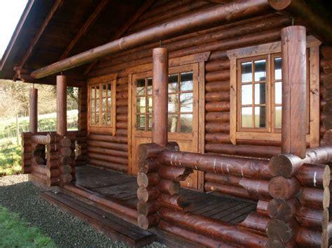 Traditional Log Cabin by Traditional Log Cabin Bude Cornwall Coast