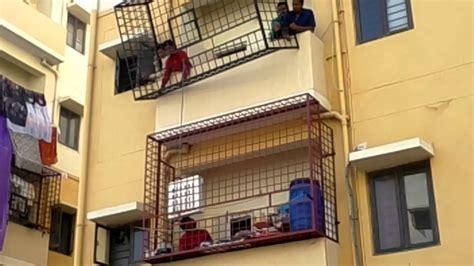 fix balcony grill   apartment youtube