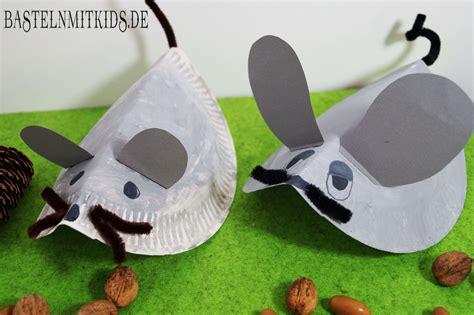 Bastelideen Mit Kleinkindern by Eine Maus Basteln Mit Papiertellern Basteln Mit Kindern