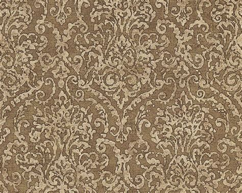 wallpaper for walls price in bangladesh baroque scroll wallpaper in beige and brown design by bd