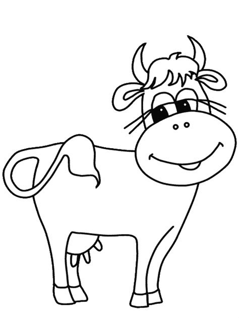 Coloring Page Cow cow coloring pages coloring pages to print