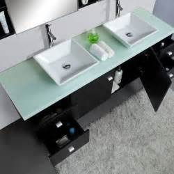72 quot clarissa sink vanity glass top