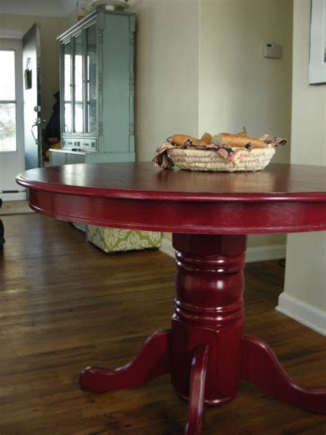 Red Dining Room Table by Red Dining Room Table Good Furniture Net