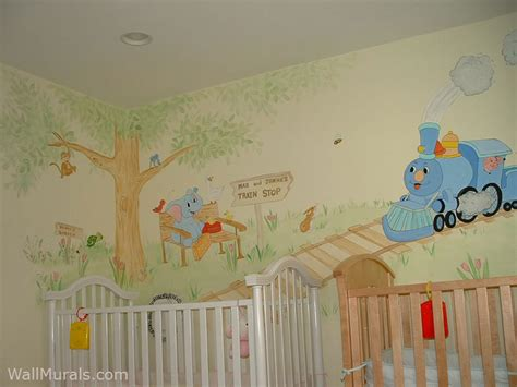 Wall Mural For Baby Room http www wallmurals com portfolio baby rooms full twins
